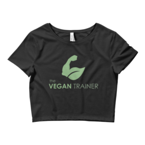 Vegan Trainer Crop Tee